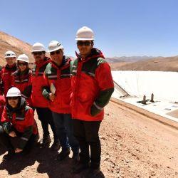 Noticias recorrió el predio junto a especialistas y autoridades de las diferentes obras de Barrick Gold en Mina Veladero. | Foto:Barrick Gold