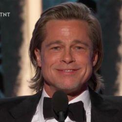 Brad Pitt, ganador en los Golden Globes 2020