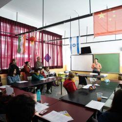 Las clases de chino, coreano y japonés en el CUI | Foto:Gentileza CUI