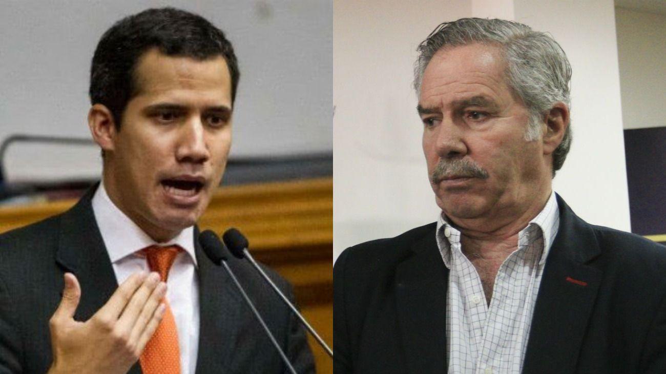 Guaidó agradeció el apoyo de Solá.