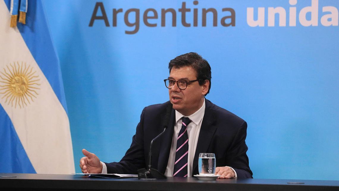 Labour Minister Claudio Moroni.
