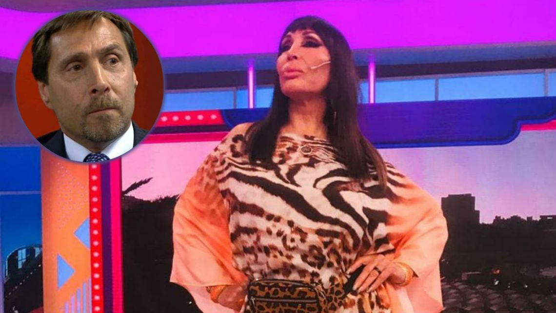 Moria derrapó con un comentario sexual sobre Eduardo Feinmann