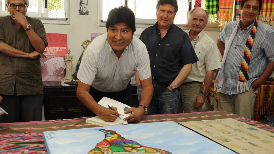 20200106 Evo Morales en Isla Maciel_g Sergio Piemonte
