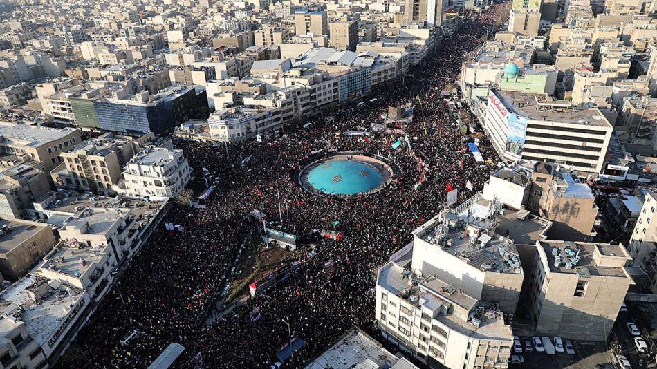 Funeral en Teheran