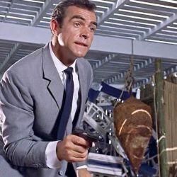 La Walther Modelo PP que se utilizó en la primera película de James Bond, en lugar de la PPK que nombran en ella. Fue subastada en Christie´s a un elevado precio.