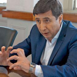 Daniel Arroyo, en su despacho del Ministerio de Desarrollo Social.  | Foto:José Tolomei