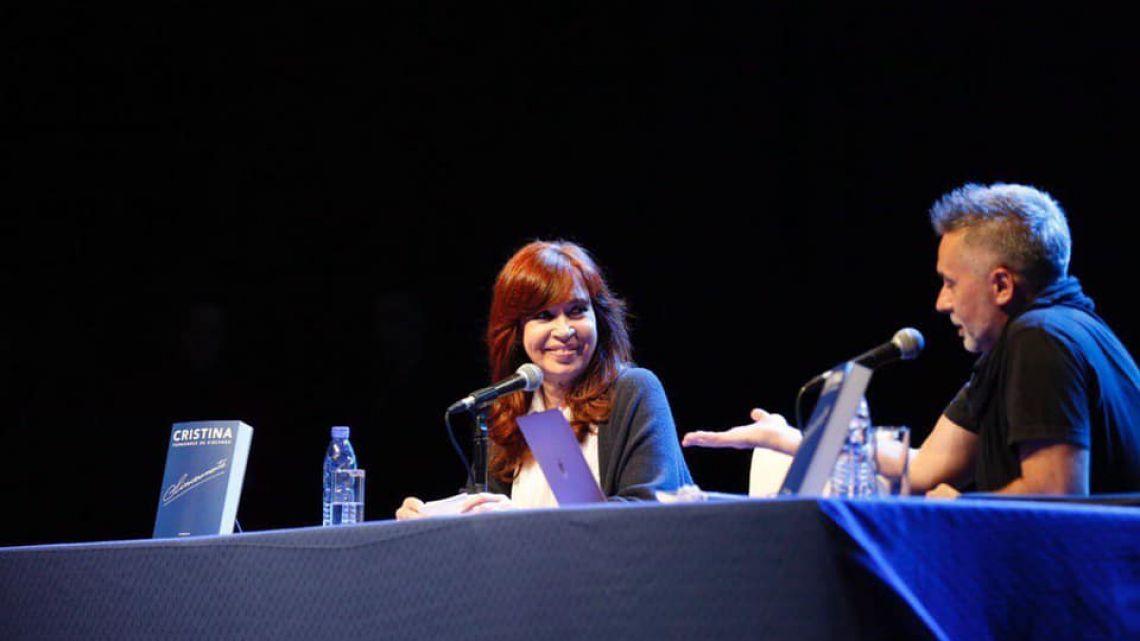 Marcelo Figueras y Cristina Kirchner