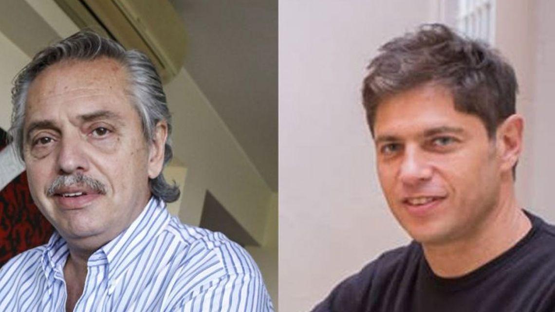 Alberto Fernández y Axel Kicillof | Foto:Cedoc