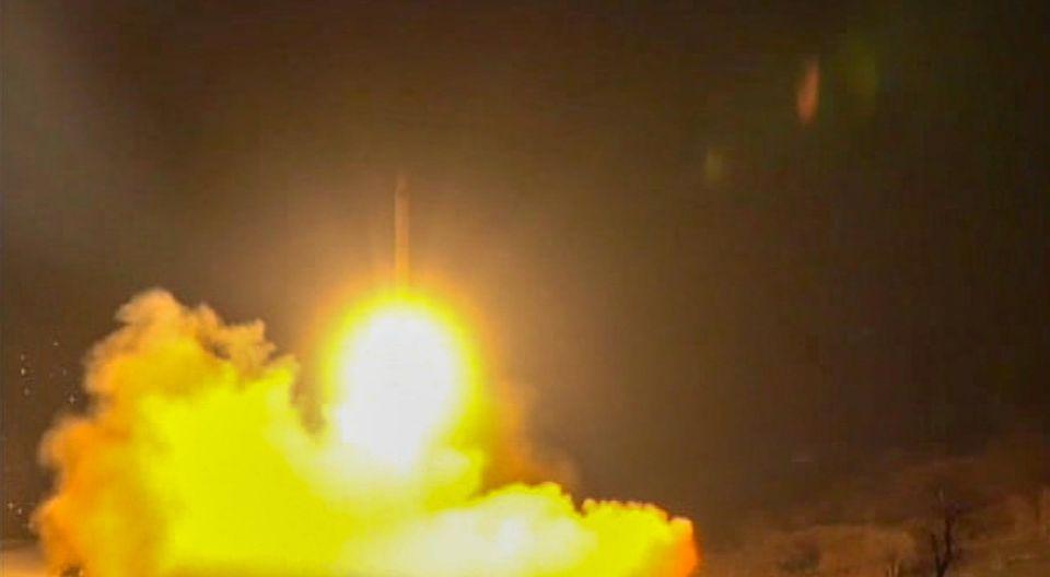 Ataque Iraní a base en Bagdag de Estados Unidos 20200108