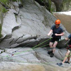 En América del Sur, el canyoning se suele practicar en Argentina, Chile, Brasil, Ecuador y Colombia.