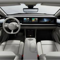 Vision-S, el primer auto desarrollado por Sony.