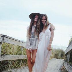 Delfina Bullrich y Violeta Juni.