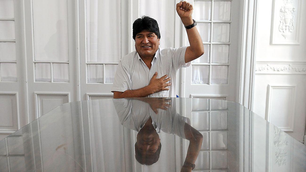 """Evo Morales: """"Quién sabe si algunos hermanos se equivocaron en las últimas elecciones"""""""
