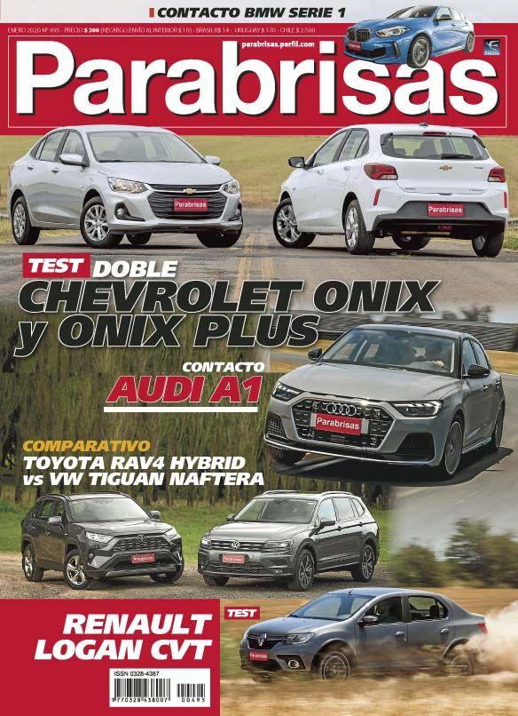 Tapa Revista Parabrisas nº 495 - Enero 2020