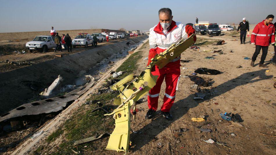 No hubo sobrevivientes en la tragedia aérea de Teherán