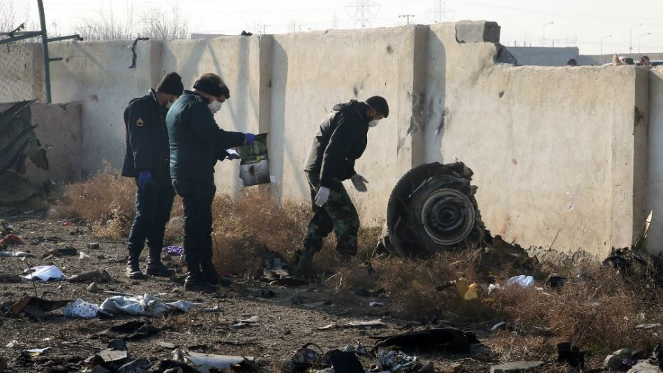 tragedia aerea iran