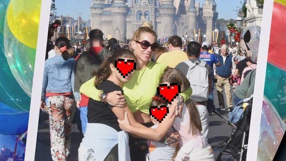 Nicole Neumann compartió fotos con sus hijas y se armó la polémica