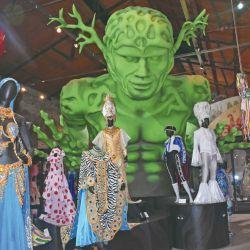 Trajes en el Museo del Carnaval.