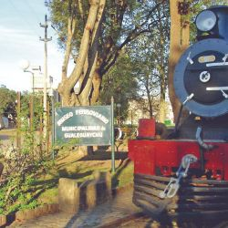 Locomotora del Museo Ferroviario.