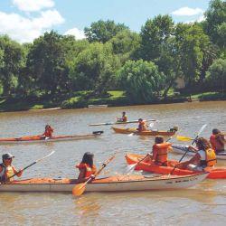 El entramado del río Uruguay es la excusa perfecta para descubrir recovecos a puro remo.