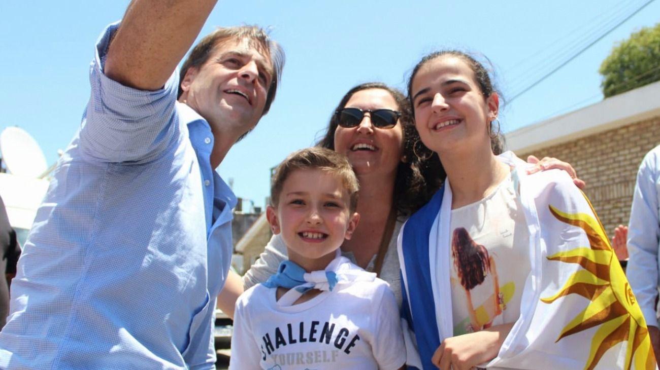 Luis Lacalle Pou, presidente electo de Uruguay.