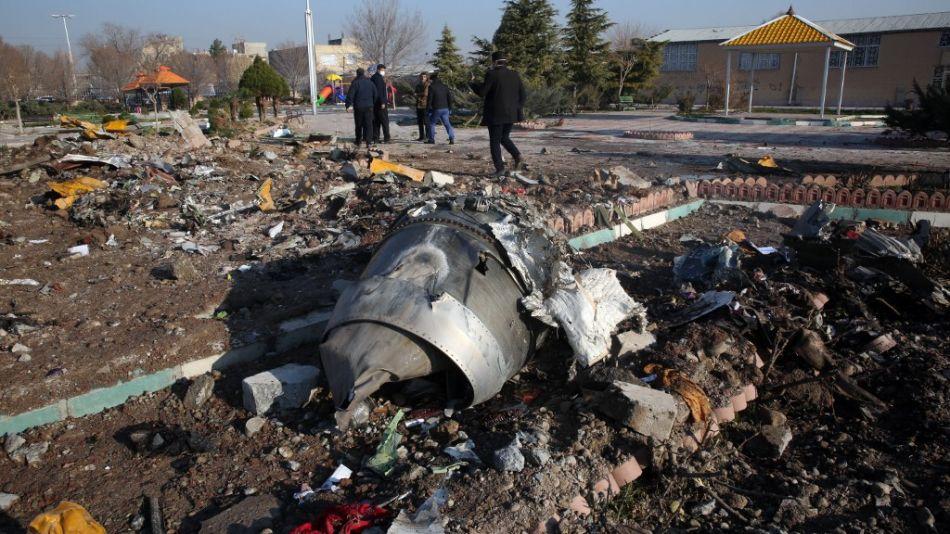 accidente avion boeing ucrania iran teheran