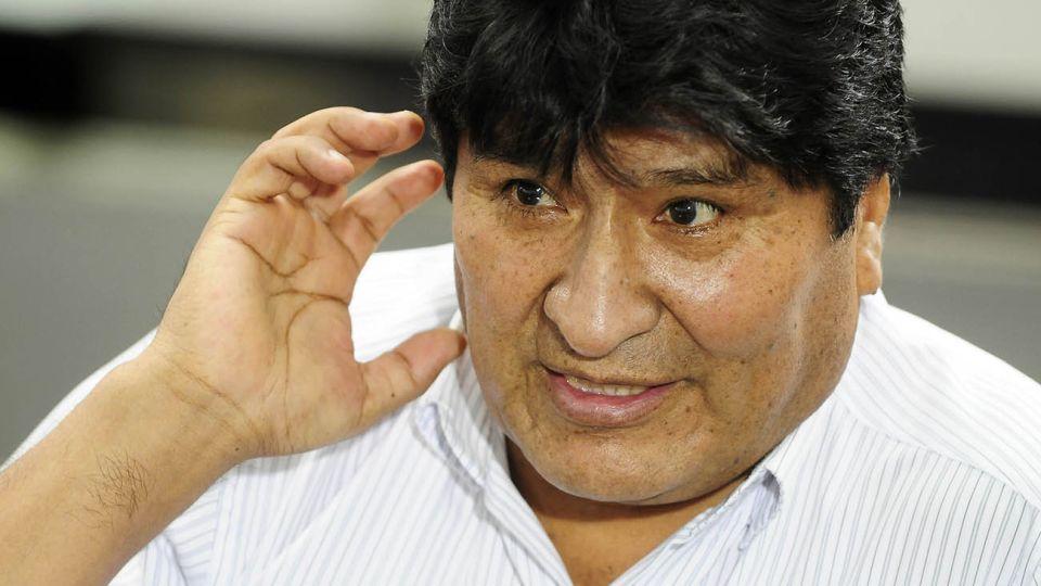 Entrevista de Jorge Fontevecchia al ex presidente de Bolivia, Evo Morales.