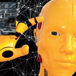 Presente. La inteligencia artificial ya está en nuestras vidas. A la derecha, el centro de diseño de Intel en Guadalajara, México. | Foto:Pete Linforth de Pixabay.