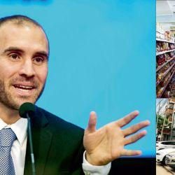 El ministro de Economía, Martín Guzmán, debe renegociar la deuda con los acreedores privados y recuperar el consumo básico y de bienes durables. | Foto:AFP