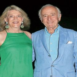 evento exclusivo. Santiago Soldati y su esposa en el evento de Noah Mamet en el Este. | Foto:Marcelo Escayola (desde Punta del Este)