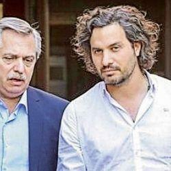 Santiago Cafiero y Alberto Fernández | Foto:Cedoc