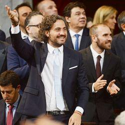 Santiago Cafiero en el Congreso | Foto:Pablo Cuarterolo