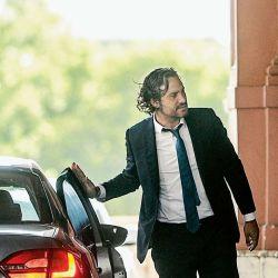 Santiago Cafiero entrando a la Casa Rosada | Foto:Juan Ferrari