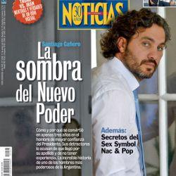 La sombra del nuevo poder: la increíble historia de Santiago Cafiero | Foto:Cedoc