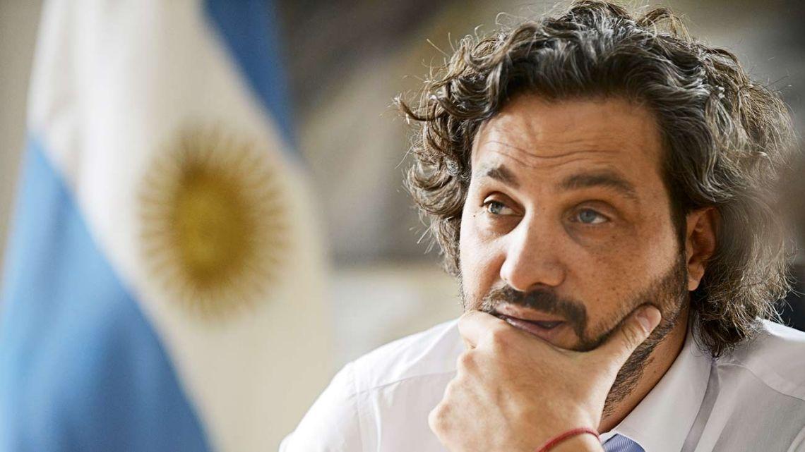 Santiago Cafiero | Foto:Pablo Cuarterolo