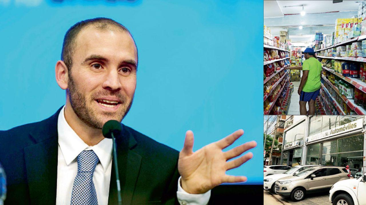 El ministro de Economía, Martín Guzmán, debe renegociar la deuda con los acreedores privados y recuperar el consumo básico y de bienes durables.   Foto:AFP