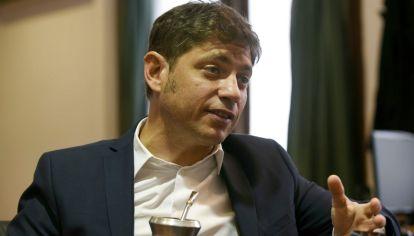 El gobernador de la provincia de Buenos Aires, Axel Kicillof.