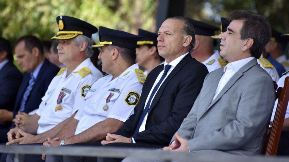 El ministro de Seguridad bonaerense, Sergio Berni.