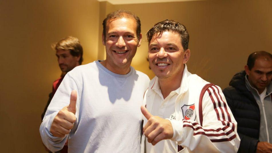Marcelo Gallardo y el plantel de River consiguieron ayer un nuevo reconocimiento