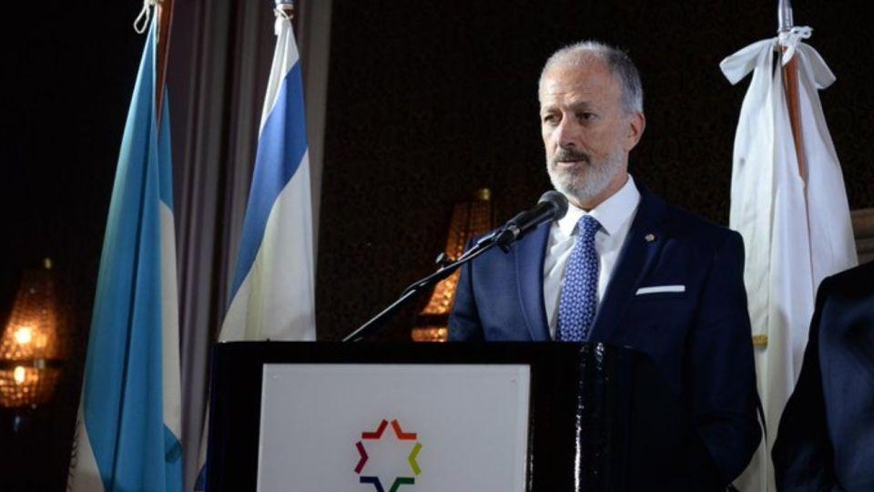 Jorge Knoblovits, presidente de la DAIA.