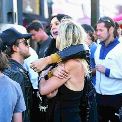 La travesía motoquera de Juanita Tinelli y Mika Bonomi