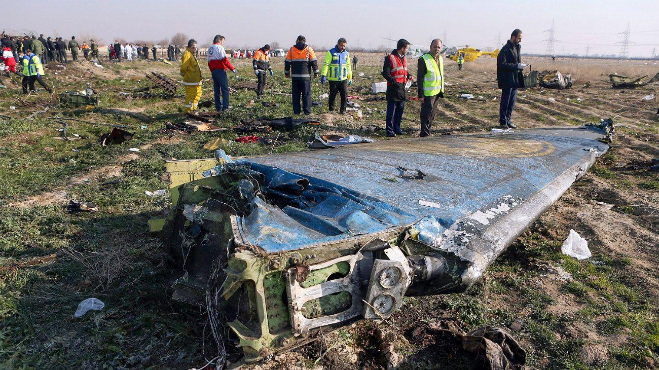El Boeing 737 del vuelo 752 de Ukraine International Airlines fue derribado y con él murieron 176 personas.