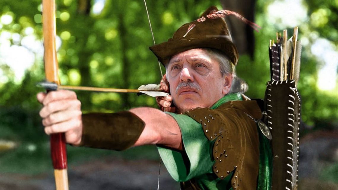 """The president has decided to give a little """"Robin Hood"""" lustre to his first few weeks in office."""