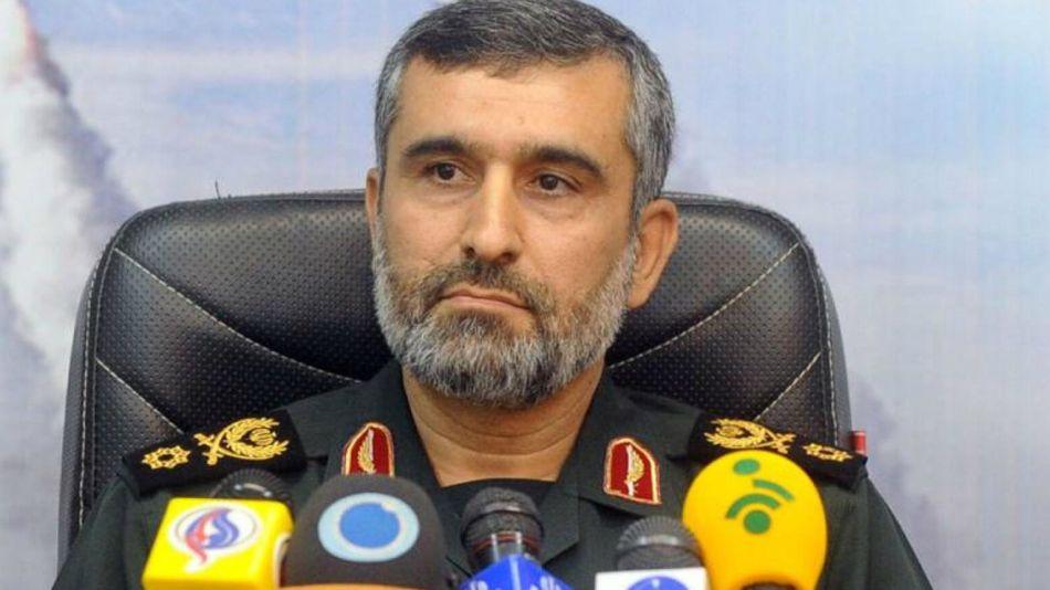 Amirali Hajizadeh, el comandante de los Guardianes de la Revolución iraníes.