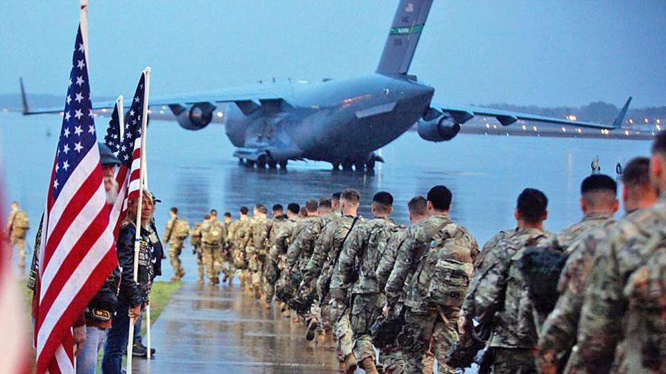 Guerra del golfo. Conflicto en 1990/91 liderado por EE.UU.