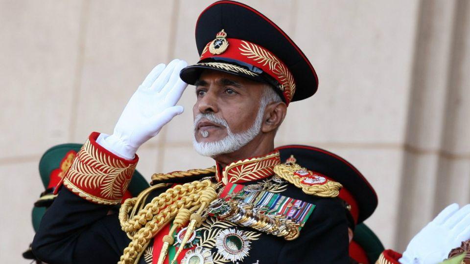 Qaboos bin Said, sultán de Omán durante medio siglo.