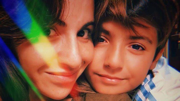 Gianinna Maradona, emocionada con su hijo Benjamín