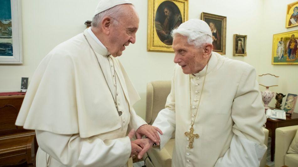 papa francisco benedicto