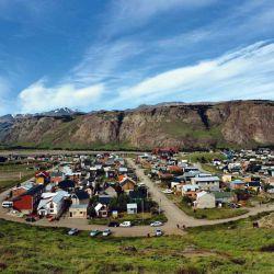 El Chaltén es cabecera de Huella de Glaciares.