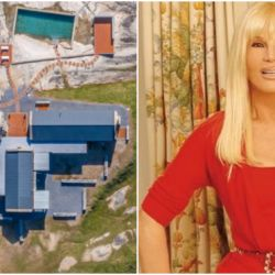 Susana y su mansión a la venta en Uruguay